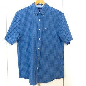 CHAPS - Men's Buttoned Down Short Sleeve Shirt